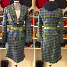 Load image into Gallery viewer, Vivienne Westwood Red Label AW 2013 Green Check Skirt Suit