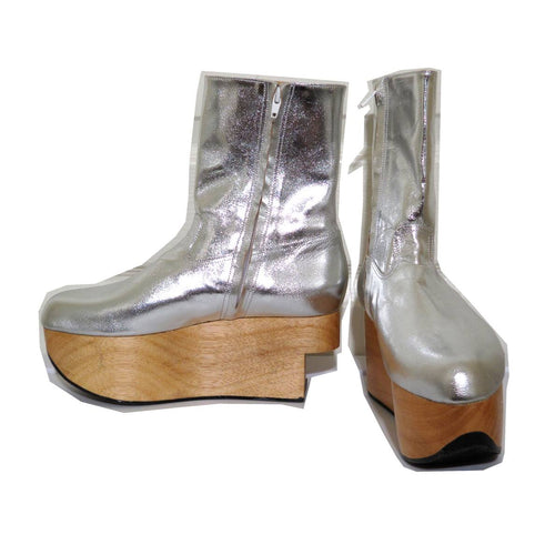 Vivienne Westwood Gold Label Rocking Horse Shoes Boots Silver