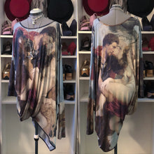 Load image into Gallery viewer, Vivienne Westwood Anglomania Elephant Twist Dress in Rubens Print