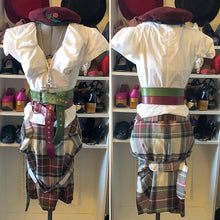 Load image into Gallery viewer, Vivienne Westwood Anglomania Bondage Skirt in Exhibition Tartan