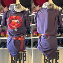 Load image into Gallery viewer, Vivienne Westwood Worlds End Lips Dress in Purple