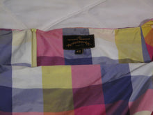 Load image into Gallery viewer, Vivienne Westwood Anglomania Bale Sunday Dress Yellow Pink Multi-Color Taffeta