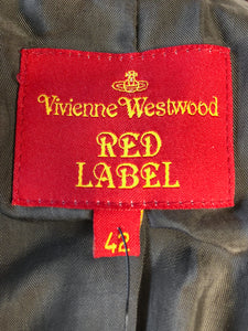 Vivienne Westwood Red Label 2006 Signature Tartan Orange Jacket