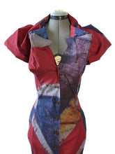 Load image into Gallery viewer, Vivienne Westwood Worlds End Shirtwaister Button-up Dress Union Jack