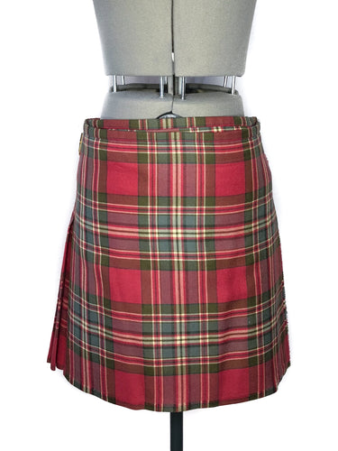Vivienne Westwood Worlds End Medium Kilt MacFarlane Weathered Lochcarron Tartan Skirt