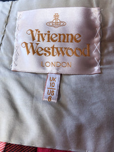 Vivienne Westwood Gold Label 2007 Wake Up Cave Girl Lochcarron Tartan Medium Kilt