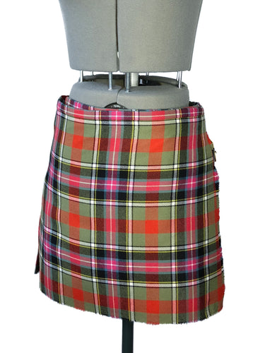 Vivienne Westwood Worlds End Mini Kilt Skirt Bruce of Kinnaird Tartan