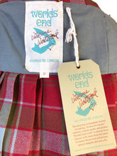 Load image into Gallery viewer, Vivienne Westwood Worlds End Mini Kilt Skirt Robertson Weathered Red Tartan