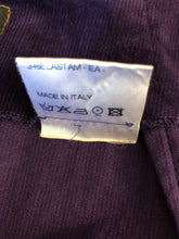 Load image into Gallery viewer, Vivienne Westwood Anglomania Purple Corduroy Pencil Skirt
