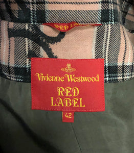 Vivienne Westwood Red Label 2006 Signature Tartan Skirt Suit in Pink
