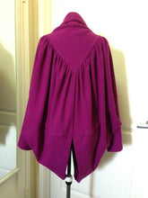 Load image into Gallery viewer, Vivienne Westwood Anglomania 2010 Butterfly Coat Purple Wool