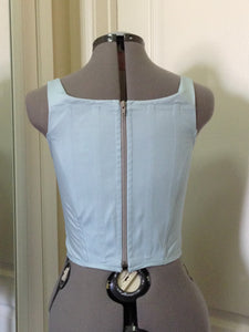 Vivienne Westwood Vintage Red Label Corset Light Blue Cotton