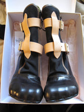 Load image into Gallery viewer, Vivienne Westwood Gold Label Bondage Boots Black Canvas