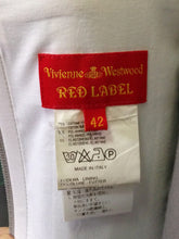 Load image into Gallery viewer, Vivienne Westwood Vintage Red Label Corset Light Blue Cotton