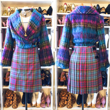 Load image into Gallery viewer, Vivienne Westwood Vintage 1993 Blue MacAndreas Tartan Men's Long Kilt