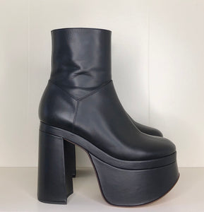 Vivienne Westwood Freddy Ankle Boots in Black Leather