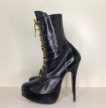 Load image into Gallery viewer, Vivienne Westwood Vintage AW 1998 Elevated Ankle Army Boots