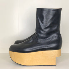 Load image into Gallery viewer, Vivienne Westwood Gold Label Rocking Horse Boots in Black Kid Leather