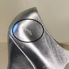 Load image into Gallery viewer, Vivienne Westwood Gold Label Mary Jane Silver Leather Low Heels