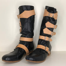 Load image into Gallery viewer, Vivienne Westwood Gold Label Black Leather Pirate Boots