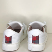 Load image into Gallery viewer, Vivienne Westwood Accessories Label Tiger Trainers in White Leather
