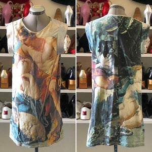 Vivienne Westwood Vintage 1991 Portrait Collection Sleeveless Shift Dress