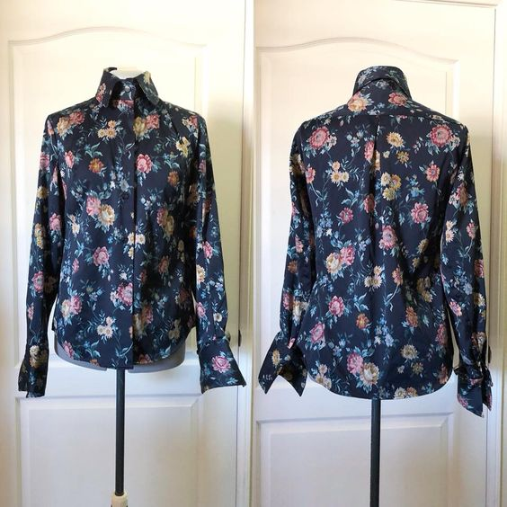 Vivienne Westwood Floral Button-up Shirt