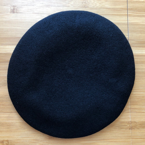 Vivienne Westwood Worlds End Pin Beret Black