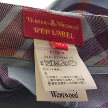 Load image into Gallery viewer, Vivienne Westwood Red Label 2010 Blue Tartan Wide Collar Jacket and Kung-Fu Trousers Suit