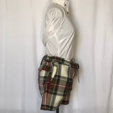 Load image into Gallery viewer, Vivienne Westwood Anglomania Kung-Fu Shorts in Exhibition Tartan