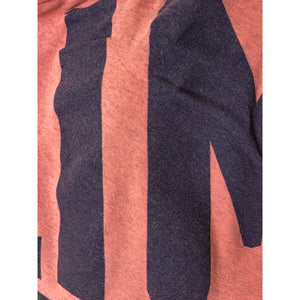 Vivienne Westwood Gold Label Infinity Jumper Climate Revolution Print in Peach and Navy