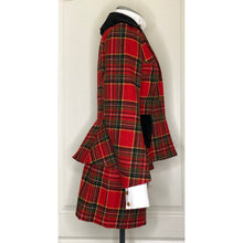 Load image into Gallery viewer, Vivienne Westwood Vintage 1996 Red Tartan Tweed Skirt Suit