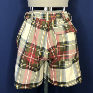 Vivienne Westwood Anglomania Kung-Fu Shorts in Exhibition Tartan