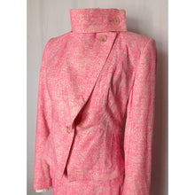 Load image into Gallery viewer, Vivienne Westwood Anglomania SS 2016 Pink Speckled Skirt Suit