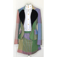 Load image into Gallery viewer, Vivienne Westwood Red Label 2012 Blanket Tweed Love Jacket and Skirt Suit