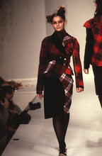 Load image into Gallery viewer, Vivienne Westwood AW 1996 Multi-Tartan Windy Bettina Jacket and Pencil Skirt Suit Set