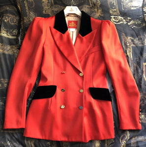 Vivienne Westwood Vintage 1994 Red Riders Jacket IT44