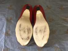 Load image into Gallery viewer, Vivienne Westwood Gold Label Red Mary Janes Low Heels Shoes