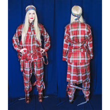Load image into Gallery viewer, Vivienne Westwood Worlds End 2016 Reissue of 1970s  Punk Bondage Suit Tartan