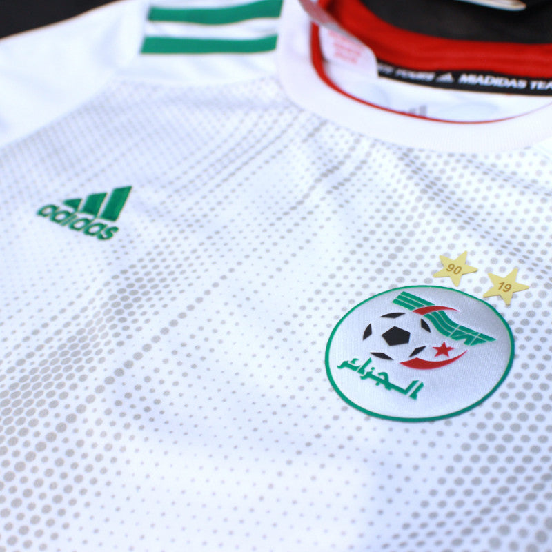 Maillot Algerie CAN 2 Etoiles Mahrez 7 2020 Taille M