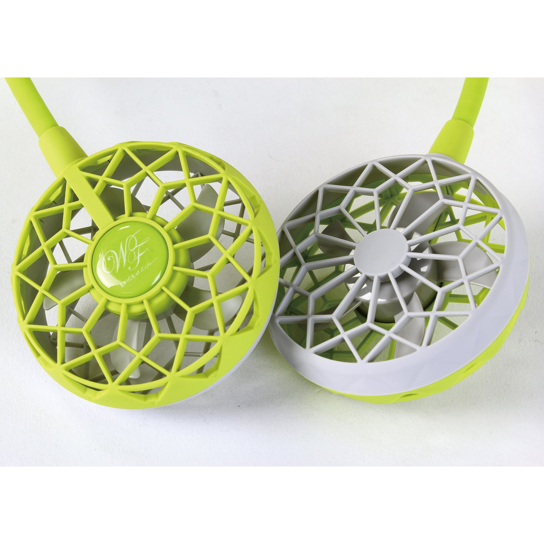 W Fan Wearable Hands free fan 2.0 Edition Lime Green