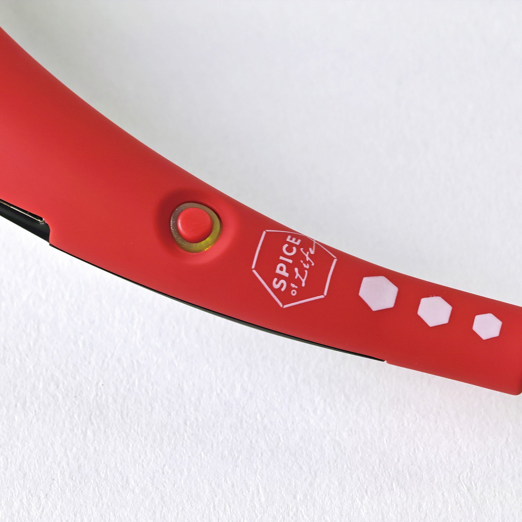W Fan Wearable Hands free fan 2.0 Edition Red