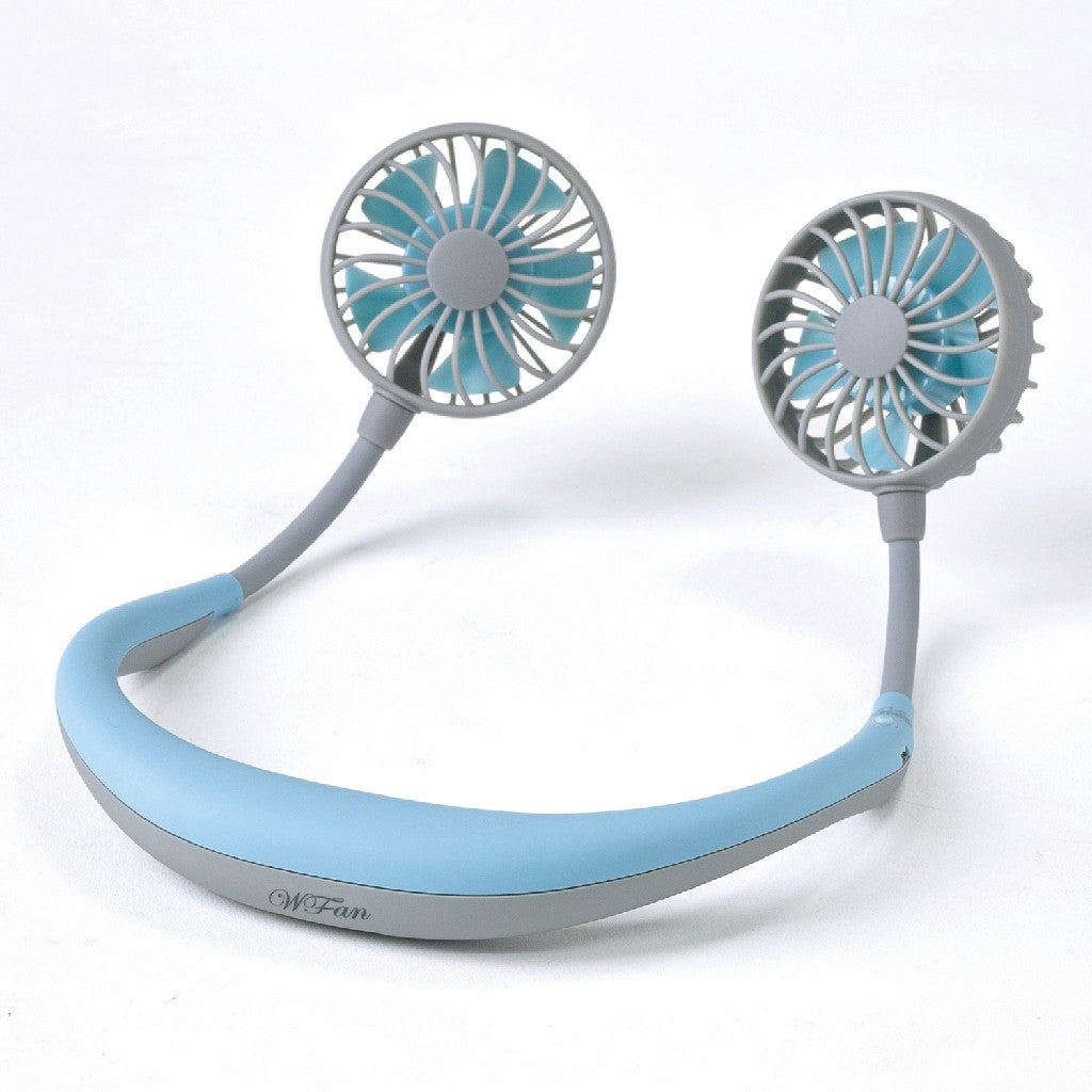 WFan Wearable Hands free Fan LIGHT BLUE