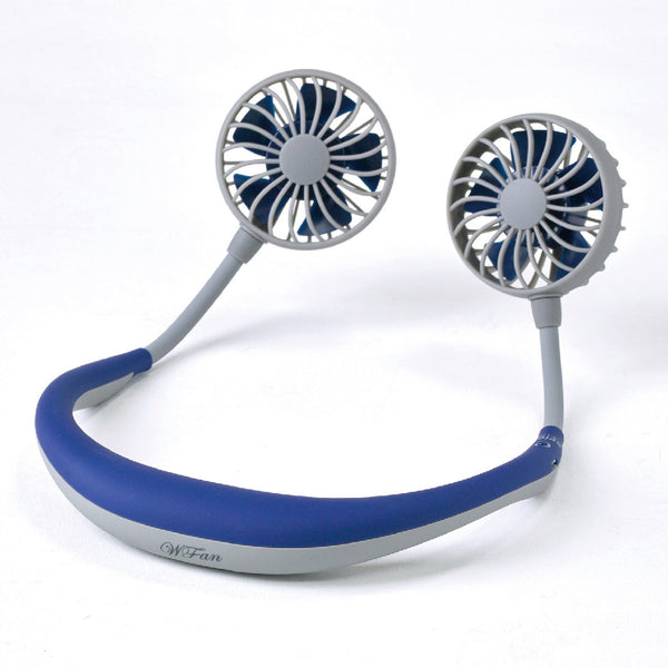 WFan Wearable Hands free Fan NAVY