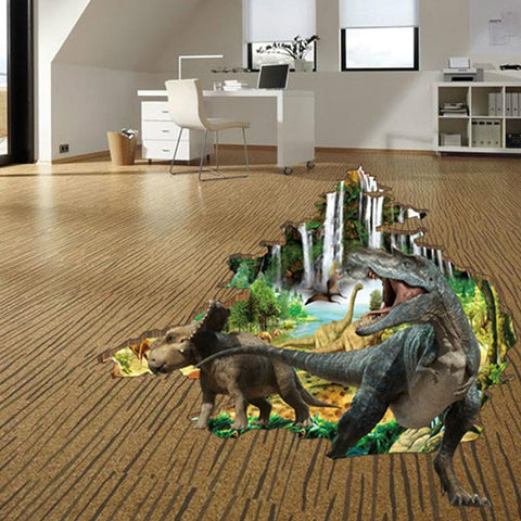3D Animal Dinosaur Wall Stickers For Kids Baby Rooms - Wall Stickers Inc