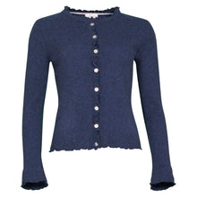 Load image into Gallery viewer, Lill - Dark Navy Cashmere Cardigan