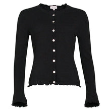 Load image into Gallery viewer, Lill - Black Cashmere Cardigan