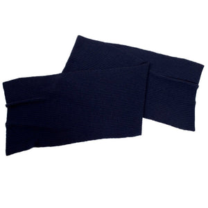 Colin - navy cashmere scarf