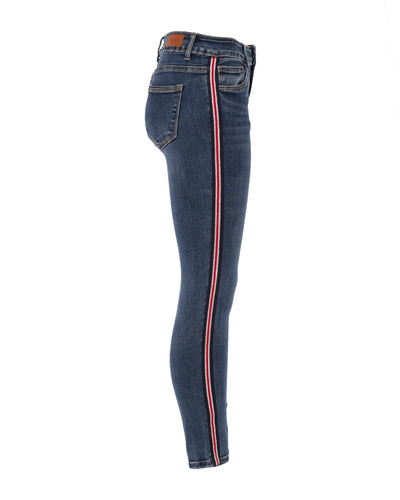 Toxik Jeans Side Stripe - denim blue