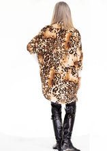 Load image into Gallery viewer, Leopard shirt dress